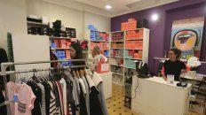 El salón de ventas en calle Uruguay 274.
