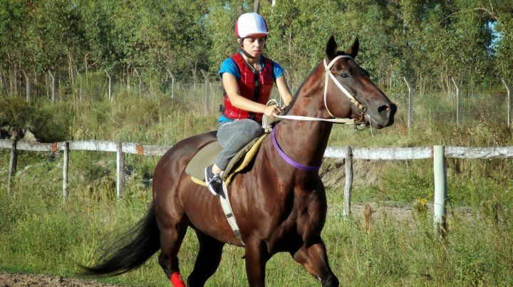 Agustina Valdez, una jockey que deja rastro