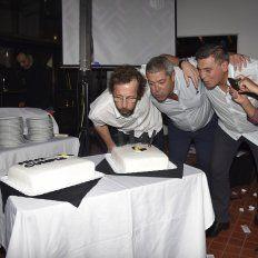 El club Estudiantes celebró un nuevo aniversario y lo hizo premiando a sus mejores exponentes.