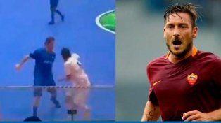 El mundo habla del gol de Totti
