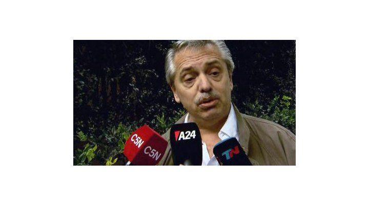 Alberto Fernández habló de Perón, Campora y comparó a Cristina con Messi