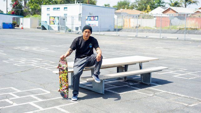 El legendario skater Daewon Song.