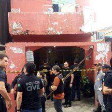 Al menos once muertos en una masacre en un bar brasileño