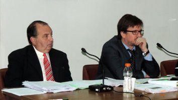 Acusadores. Salvatelli y el fiscal habían solicitado prisión efectiva en sus alegatos.