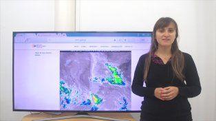 El pronóstico del clima para lo que resta de esta semana