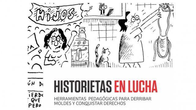 Historietas en lucha en la Casa de la Cultura