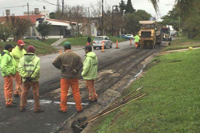 Siguen los trabajos de reconstrucción vial de una conexión clave en Paraná