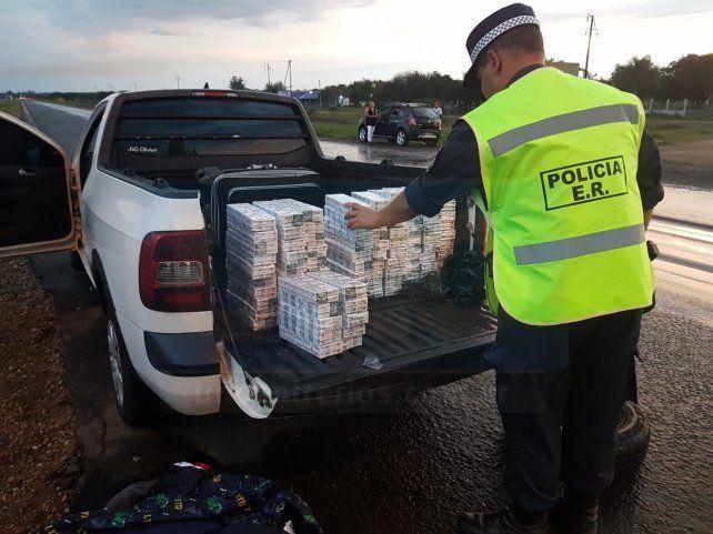 Por el uso del scanner en la autovía localizaron droga, ropa y cigarrillos de contrabando