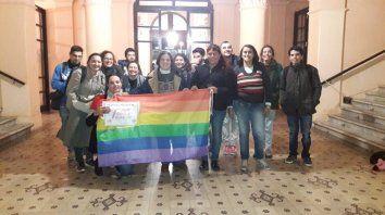 La comunidadLGBTIQ+ en la Casa de Gobierno.