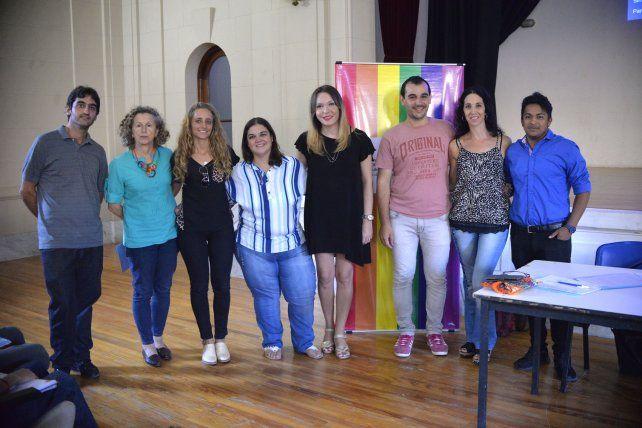 Victoria Antola disertó en Uader convocado por la Secretaría de Derechos Humanos.
