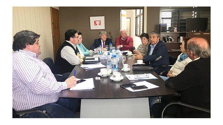 Reunión. Los miembros del directorio