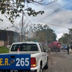 Venganza: Incendiaron la casa del menor que baleó en la cabeza a un joven