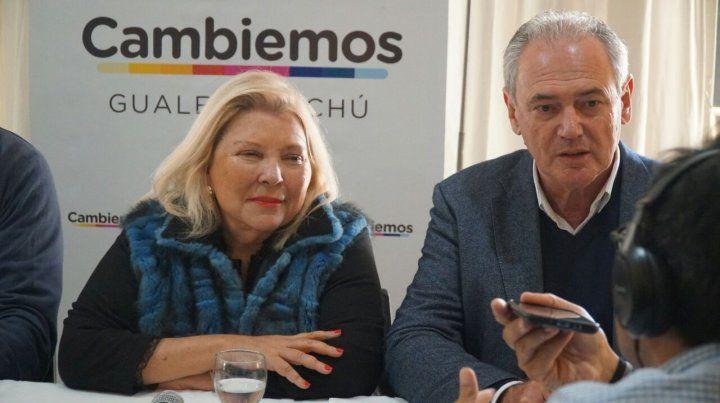 Carrió: Bordet es Cristina y Benedetti es Cambiemos