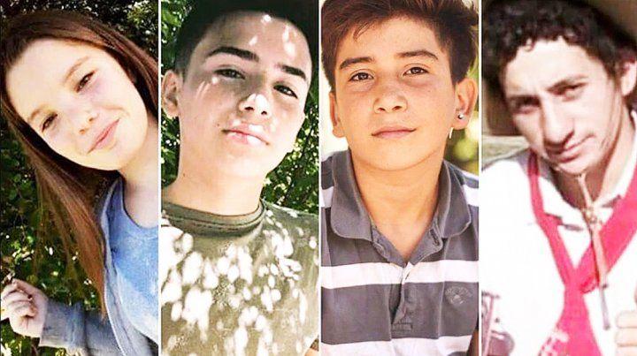 Estas son las cuatro víctimas de la masacre de San Miguel del Monte