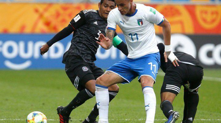 Los goles del representativo europeo fueron de Davide Frattesi (7m. PT) y Luca Ranieri (22m. ST)
