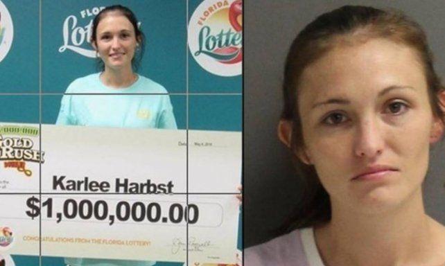 Ganó un millón de dólares en la lotería, pero lo peor vino después