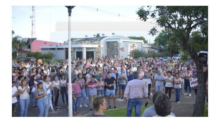 La comunidad de Federal reclamó Justicia por el femicidio de Jesica Riquelme