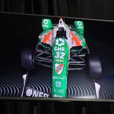 El auto fue presentado.