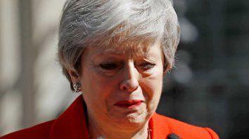 theresa may anuncio su renuncia como primera ministra britanica