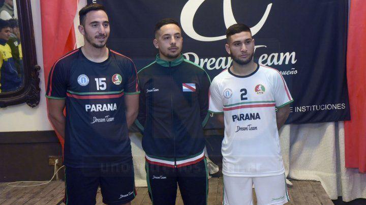Inédito. Por primera vez los tres seleccionados presentarán la misma indumentaria deportiva en los Argentinos.