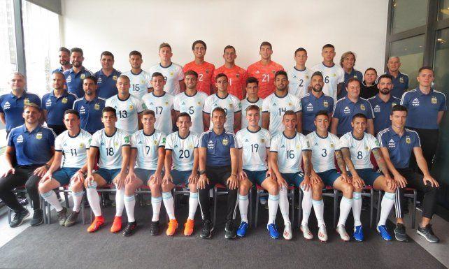 Unidos. El equipo nacional cuenta con el delantero entrerriano Tomás Chancalay