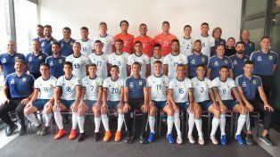 Unidos. El equipo nacional cuenta con el delantero entrerriano Tomás Chancalay, de 17 años.