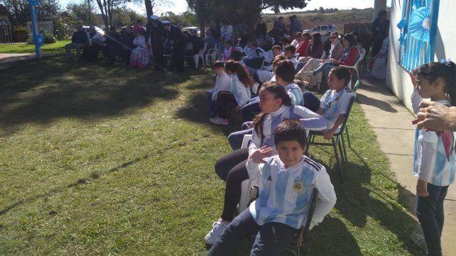 Escuelas rurales compartieron los festejos del 25 de Mayo