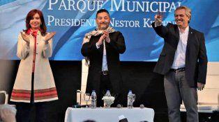 Cristina junto a Alberto Fernández: Dos dirigentes no podrán hacer todo