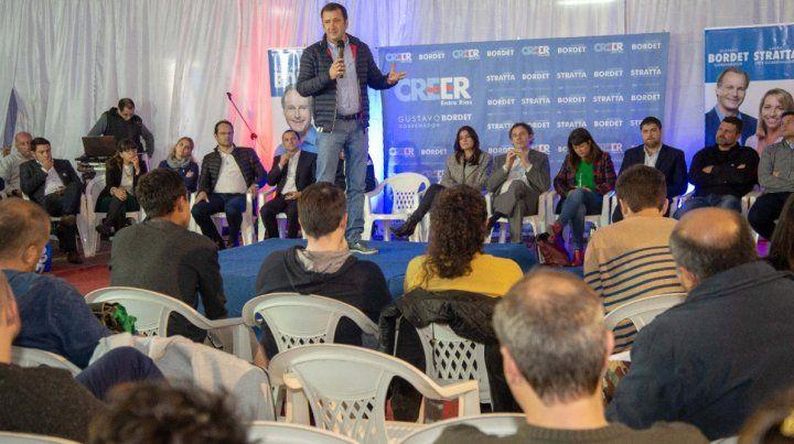 Destacan la decisión de Bordet de generar espacios de participación para los jóvenes