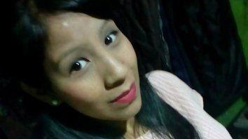 La víctima. Mónica Garnica Luján murió por las quemaduras sufridas en el marco de una pelea de la pareja.