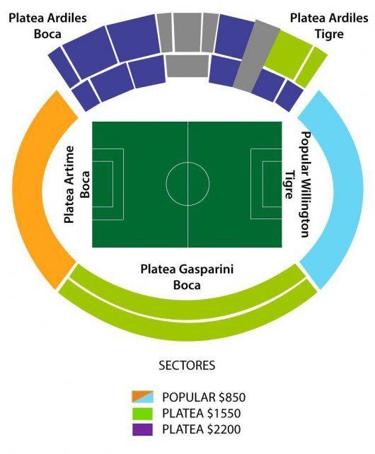 Las entradas populares cuestan 850 pesos; mientras que las plateas se venden a 1.550 y 2.200 pesos a través de Ticketek.