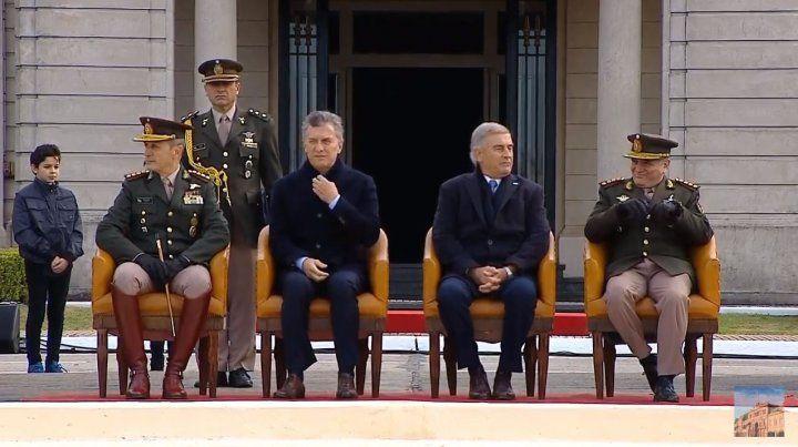 EN VIVO   Macri encabeza el acto por el aniversario de la creación del Ejército Argentino