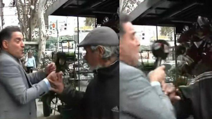 Habló el florista que quiso pegarle a Mariano Iúdica por molestarlo mientras trabajaba