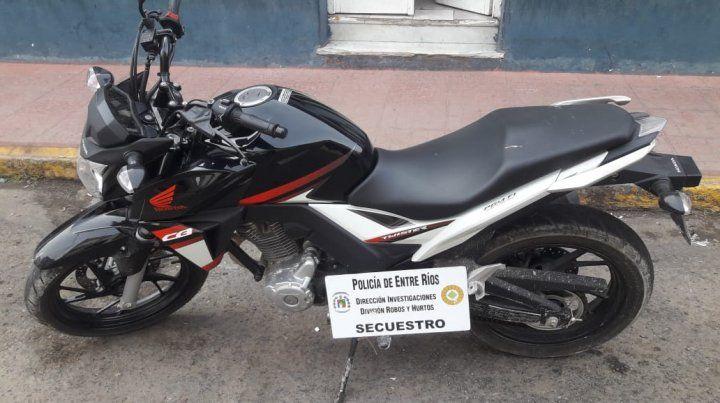 En dos días la Policía recuperó tres motos robadas