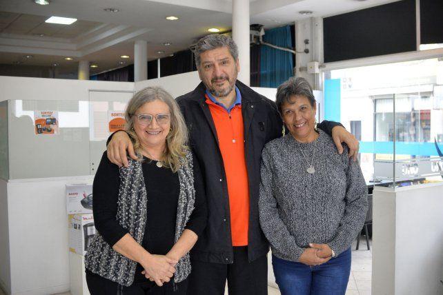 <div>Noemí Mimi Altamirano, César Garrón Del Castillo y Patricia Pato Medina. </div>