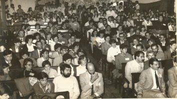 Postal, en Concepción, de la asamblea universitaria de normalización de la UNER.