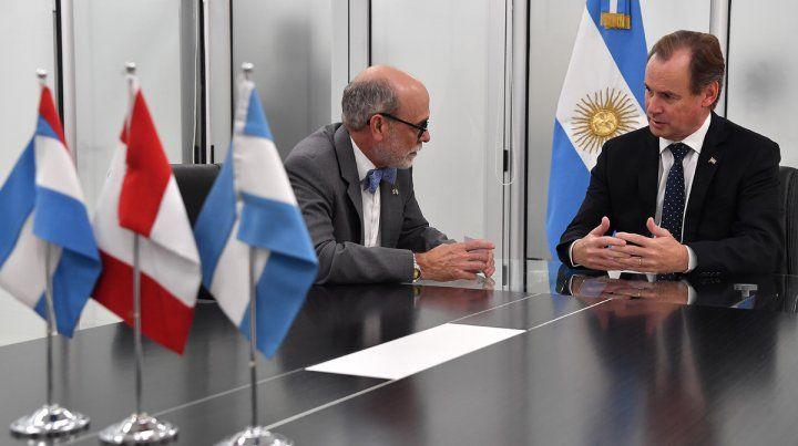 Bordet destacó la relación comercial, institucional y de cooperación de Entre Ríos con Canadá