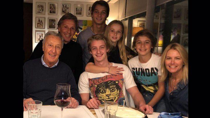 Baltazar Gravier, el hijo de Valeria Mazza, cumplió 20 años y lo celebró en familia