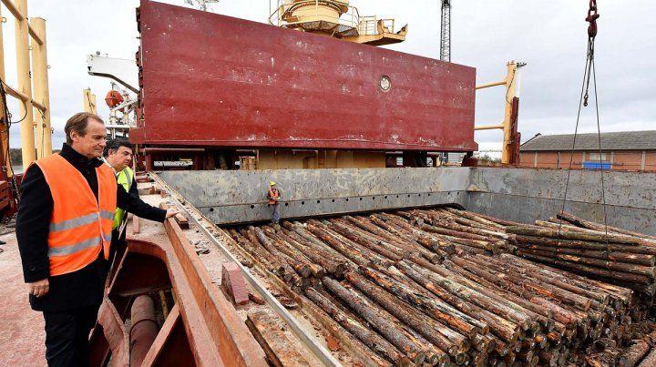 En 2018 se embarcaron desde los puertos entrerrianos más de 617.000 toneladas