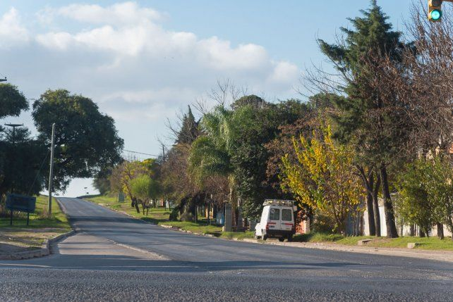 Ensanche finalizado y habilitado en el acceso al Parque Industrial General Belgrano