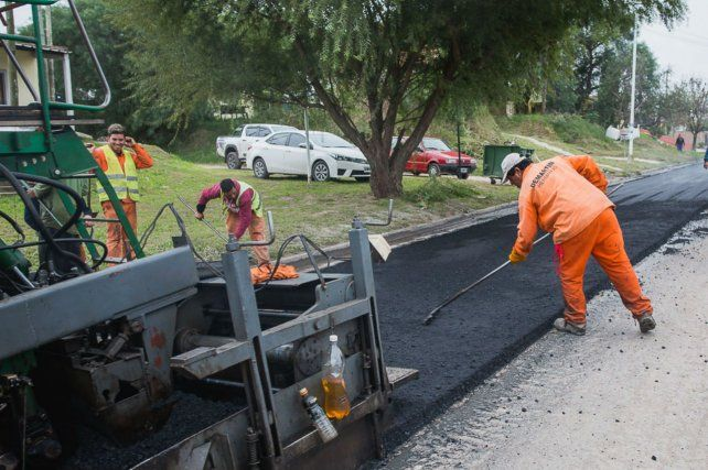 Culminaron los trabajos de repavimentación en Juan Báez
