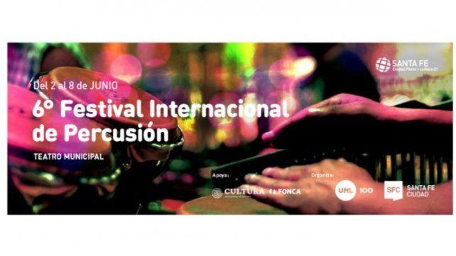Sexto Festival Internacional de Percusión de Santa Fe