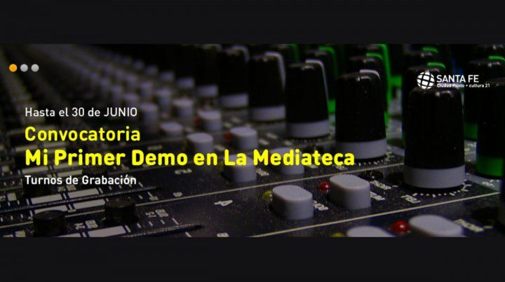 Convocatoria: Mi primer demo en la Mediateca