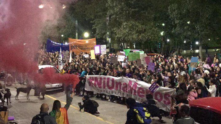 Ni una Menos: Paraná marchó para que cesen los femicidios y la violencia machista