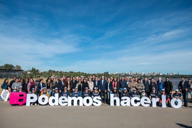Bahl se compromete a limpiar y sanear Paraná
