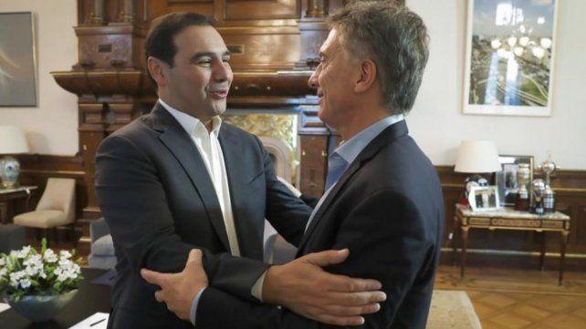 La UCR llevó a la Casa Rosada su propuesta de ampliar Cambiemos
