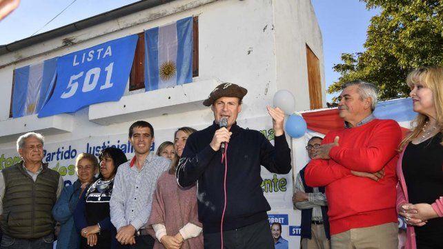 Bordet destacó la campaña cara a cara con los vecinos