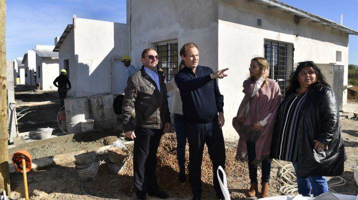 Más de 70 viviendas en seis localidades superan el 80% de avance
