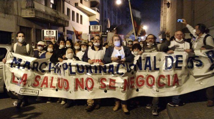 Entre Ríos tuvo una fuerte presencia en Rosario.