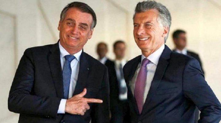 Macri recibirá a Bolsonaro porr la flexibilización del bloque regional